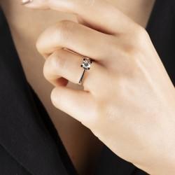 0,70 crt Diamond Solitaire Ring