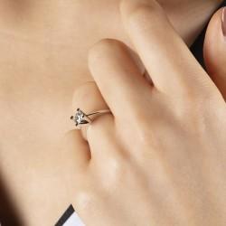 0,47 crt Diamond Solitaire Ring